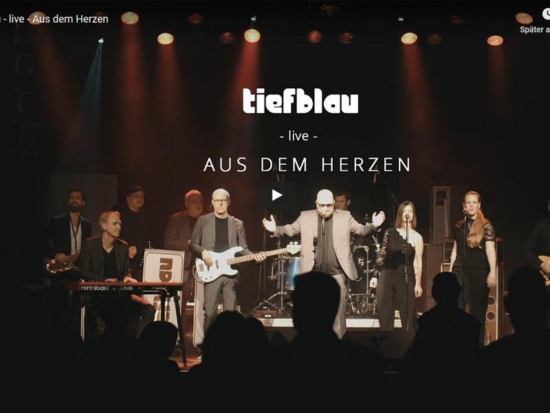Neues Video online | Aus dem Herzen – live –