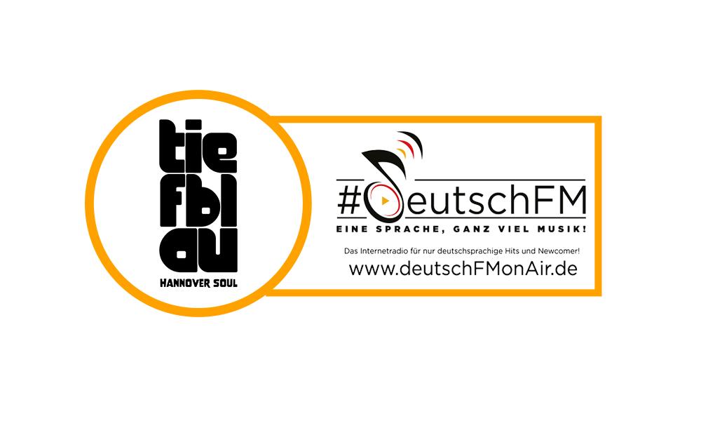 tiefblau bei Radio deutschFM in der Heavy Rotation