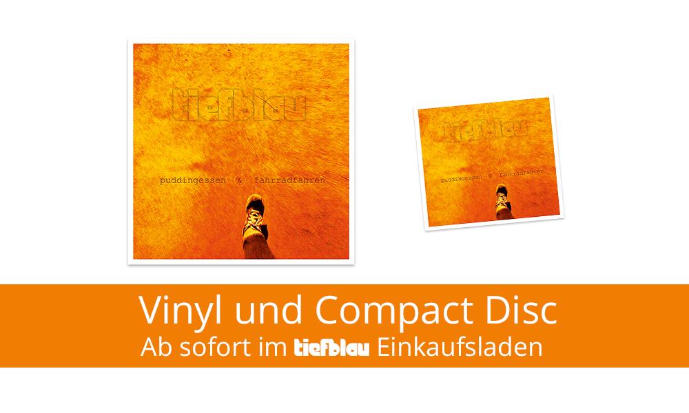 Vinyl und CD ab sofort