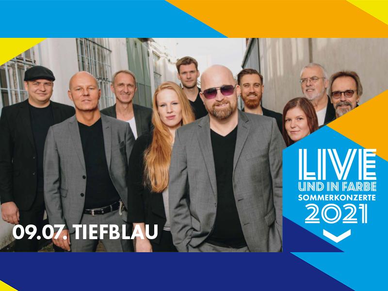 tiefblau Release Konzert